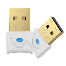 Mini USB Bluetooth V4.0 For Win7/8/XP 25 Dual Mode Wireless Dongle Gold plated connector CSR 4.0 Adapter White Color