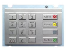 PCI 4.x/PCI4.0 Metal Pinpad for Wincor Nixdof EPP V6/EPP J6 for ATM,Metal Security Kiosk Encrypted Pin Pad keypad