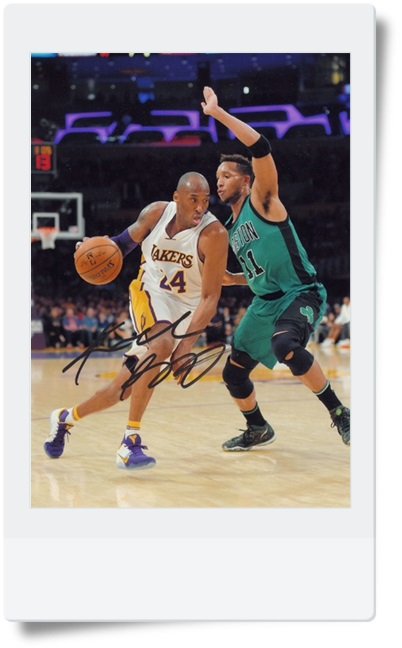 signed Kobe Bryant autographed  original photo 7  inches free shipping 08201703<br>