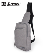 Luxcel Canvas Cross body Shoulder Bag Unisex Multi-functional Mini Chest Bag Pack(China)