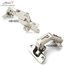 Special Corner Hinge Set 2pcs Inset Overlay 165 Degree+2pcs 135 Degree Cabinet Hinge For Corner Folden Cabinet Door