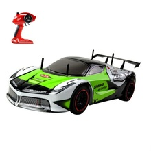 RC Race Car 1:10 New Big 2.4G Colorful LIght High Speed Car Birthday Gift Mother and Child Game