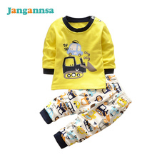 New Colorful Cotton Kids Clothing Sets Girls Boys Underwear Comfort Sets Fashion Sport Suit Spring Autumn Boys Clothing