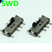 10PCS 8 Pin on-off switch mini 3 Position 2P2T SPDT SMD Slide Switch spdt slide switch #DSC0011(China)