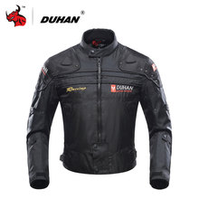 DUHAN Motorcycle Jacket Motorbike Riding Jacket Windproof Motorcycle Full Body Protective Gear Armor Autumn Winter Moto Clothing(China)