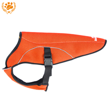 My Pet Brand Air-mesh Cooling Coat Pet Dog Clothes Outdoor Cooling Circulation System Jacket Easy To Wear More Safety VC14-JK022(China)