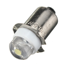 LED For Focus Flashlight Replacement Bulb P13.5S PR2 0.5W led Torches Work Light Lamp 60-100Lumen Pure/Warm White DC 3V 4.5V 6V(China)