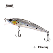 Kingdom fishing lures floating minnow 90mm 9g fishing tackle wobblers six color available model 5339(China)