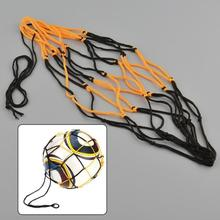 Hot New Portable Nylon Net Bag For Basketball Other Sport Balls Net Overstretches Bag for Single Ball(China)