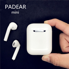 Padear I9S mini Bluetooth Earbuds Earphone Wireless Headsets Ear Double Not Air pods For Iphone Andorid Apple 7/8 plus(China)