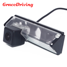 New super good quality wired HD CCD car rearview rear view parking camera for for Mitsubishi Grandis/Pajero sport2013 waterproof(China)