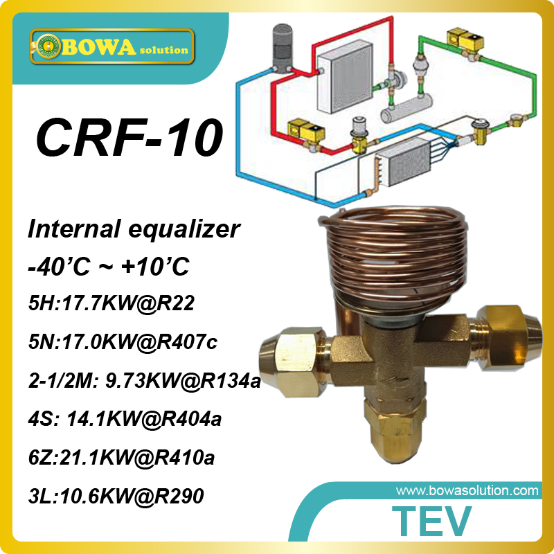 CRF-10 R404a 4 cooling ton internal TVX with SAE flare connection replace danfoss TDE and TDEB<br><br>Aliexpress