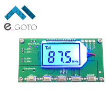 FM Receiver Module Wireless Frequency Modulation Radio Receiving Board DIY Digital Storage - e_goto Processors Store store