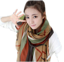 CWLSP Square Scarf  Women Fashion Brand High Quality Cheap Imitated Scarves Shawl Q297