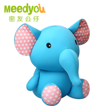 High Quality 24cm Elephant Plush Toy Stuffed Pillow Doll Birthday Gift Kids Toy Baby Toy Nice Brinquedos for Children(China)