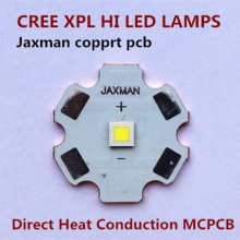 Flashlights parts LED Cree XPL hi lamps with direct heat conduction copper PCB(China)