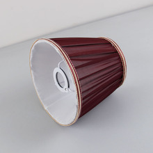 DIA 15.5cm/6.1inch High Quality deep red wall lampshades, chandelier lamp shades, E14(China)