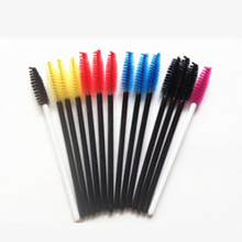 50Pcs Cosmetic Disposable Eyelash Brush Makeup Tool Mascara Wands Applicator Hot Sale(China)