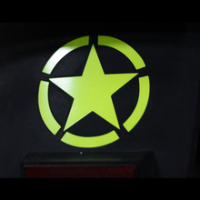 car stickers vinyl waterproof  world war ii the five-pointed star decals for cars motorcycles trucks or boats