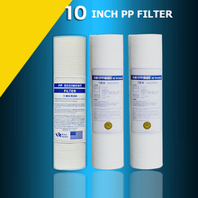 "3 pieces/lot 10"" PP 1 or 5 micron for water filters household water purifier for reverse osmosis system sand filter for water"