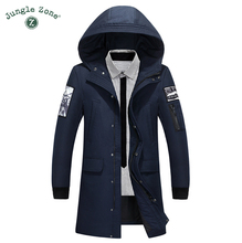 Mens Winter Thick Warm Down Jacket Men's Down Jacket Long Coat White Duck Down Jacket casual parka goose canada man 918-62