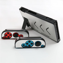 Anti-slip Aluminum Full-Body Shell Protective Case Cover Skin For Nintendo Switch NS Console With Joy-Con Controller Case Cover