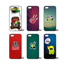 For Samsung Galaxy Note 2 3 4 5 S2 S3 S4 S5 MINI S6 S7 edge Active S8 Plus Sticker Bomb eat sleep JDM Pattern Phone Case Cover(China)