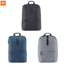 Buy Original Xiaomi Shoulder Bag SchoolBag Backpack Polyester Material Zipper Leisure Style Man Woman Casual for $20.00 in AliExpress store