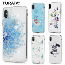 Buy Turata Case iphone X Printed Soft Silicon TPU Case Coque Back Cover Protect Fundas Cell Phone Cases Accessories P20 for $1.26 in AliExpress store