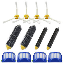 Hepa Filter Bristle Brush 3 Armed Side Brush for iRobot Roomba 600 Vacuum Cleaners for iRobot Roomba 610 620 625 630 650 660
