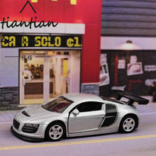 tc 1:64 Audi R8 GT Sports car Alloy car model kids toys Pocket car Open the door Decorative ornaments Children's favorite gift(China)