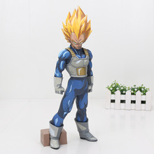 SMSP Dragon Ball Z Figure Super Master Stars Piece Vegeta Limited color Super Saiyan Manga Black Vegeta PVC Action Figure Toy(China)