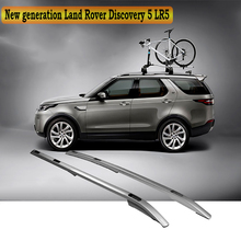 For Land Rover Discovery 5 LR5 Roof Rack Rails Bar Luggage Carrier Bars top Cross Racks Rail Boxes Aluminum alloy Screw fixing(China)