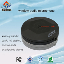 SIZHENG window mini sensitive CCTV microphone audio surveillance device sensitivity sound monitor pickups for security camera
