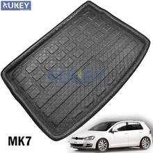 For Volkswagen VW Golf 7 Mk7 Hatchback Hatch 2013 2014 2015 2016 2017 Rear Trunk Liner Boot Cargo Mat Tray Floor Carpet Mud
