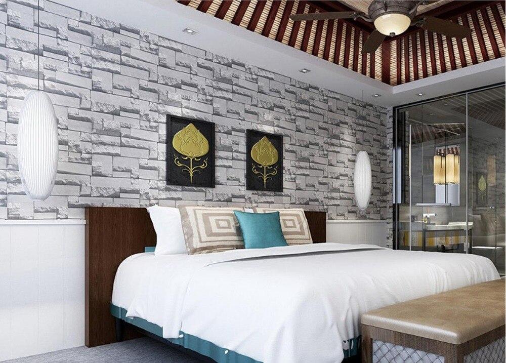 Top Classic 3D European Style Factory Direct 3D stereoscopic brick retro brick pattern wallpaper store decoration wallpaper<br>