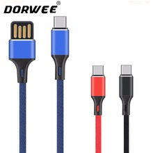 DORWEE USB Type C Cable Samsung Galaxy S8 USB C Fast Charge Data Cable Huawei P10 Nexus 5X 6P OnePlus 5 USB Type-C