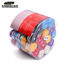 60 Pcs Sports Tennis Racket Overgrips Anti-skid Fishing Rod Badminton Tennis Sweat Absorbed Wraps Tapes Grips Sweatband(China)