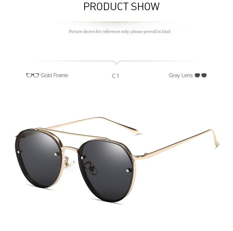 VMOERS Female Fashion Round Shades Sunglasses Women Pink Lens 2018 Sun Glasses For Women Brand Designer Lunette Oculos Ladies