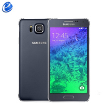 Original Unlocked Samsung Galaxy Alpha G850 G850F 4.7'' 12.0MP Quad+Quad Core Android 32GB ROM 2GB RAM Touchscreen Smartphone