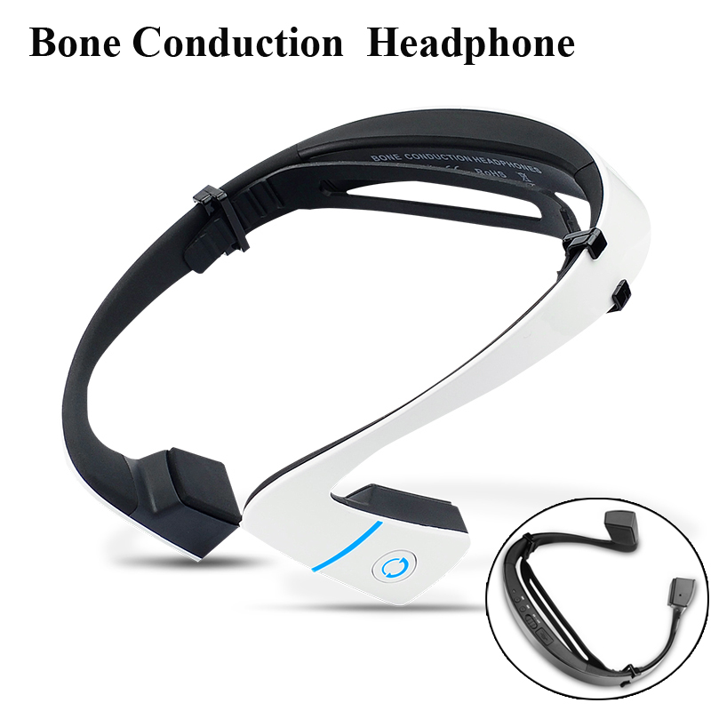 Smart LF-18 wireless Bluetooth Stereo Headset BT 4.1 Waterproof Neck-strap Headphone Bone Conduction NFC Earphone Hands-free O3<br>