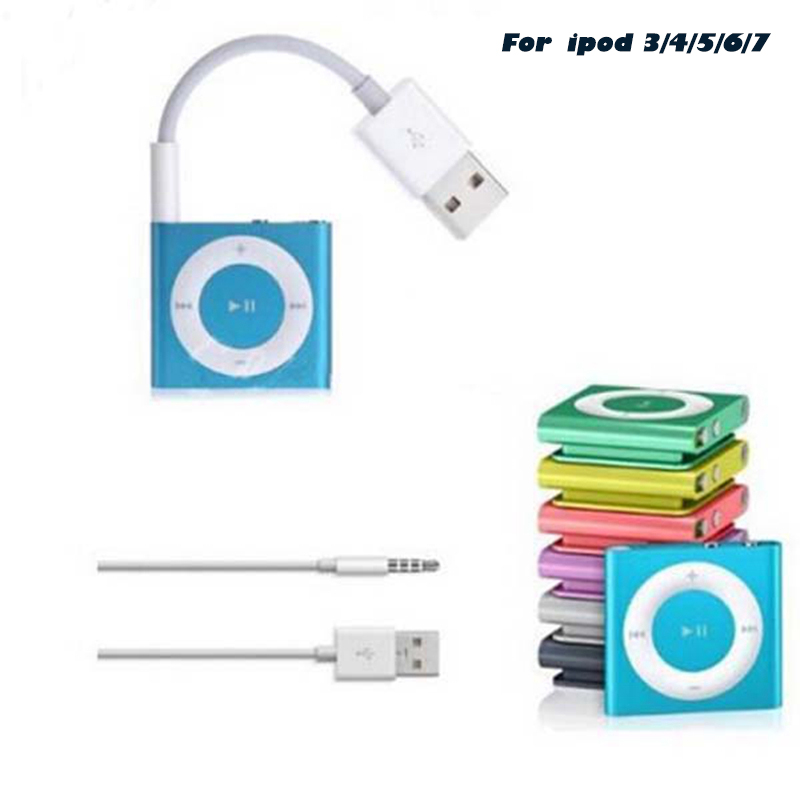 Data-Line Charging-Cord-Adapter Mp4-Player Speaker Video-Usb Apple iPod for Sync Jack title=