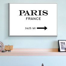 Paris France Marfa Like Gossip Fashion Modern Poster Canvas Art Painting on the Wall Pictures for Home Decoration Wall Art(China)