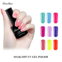 Saroline Art Varnishes Long Lasting 8ML UV Gel Polish UV Led Shining Nail Gel Lacquer Beauty Nail Soak Off UV Nail Gel Polish