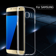 Transparent Ultra Thin Soft TPU Gel Case For Samsung Galaxy S3 S4 S5 mini S6 S6edge Note 2 3 4 5 A3 A5 A7 2017 Phone Back Cover