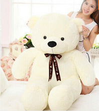 Free Shipping 120cm Giant Teddy Bear Life Size Stuffed Toy Valentine Gift Hot Sale With High Quality