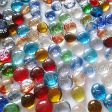 390PCS/LOT,Mixed color round glass beads,Glass mosaic,DIY mosaic art,Craft material,Mosaic craft,DIY tools,13-15mm(China)