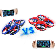 Original Cheerson CX-60 WIFI Controlled Fighting Mini Drone G-sensor Height Hold Battle RC Quadcopter 2 in 1 Battleship