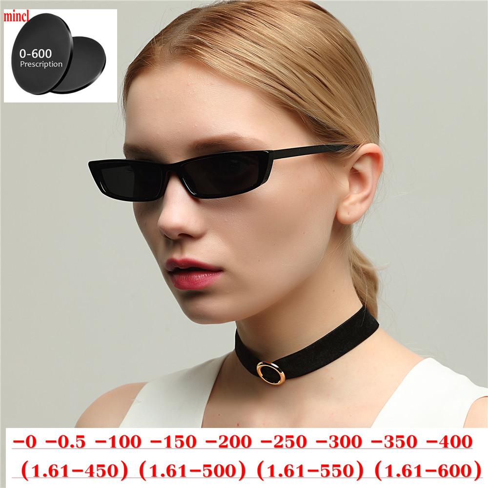 Diopter Sunglasses for Men Square Myopia Prescription Sun Glasses Driving Polarized glasses Small Frame Female Optical EyewearNX