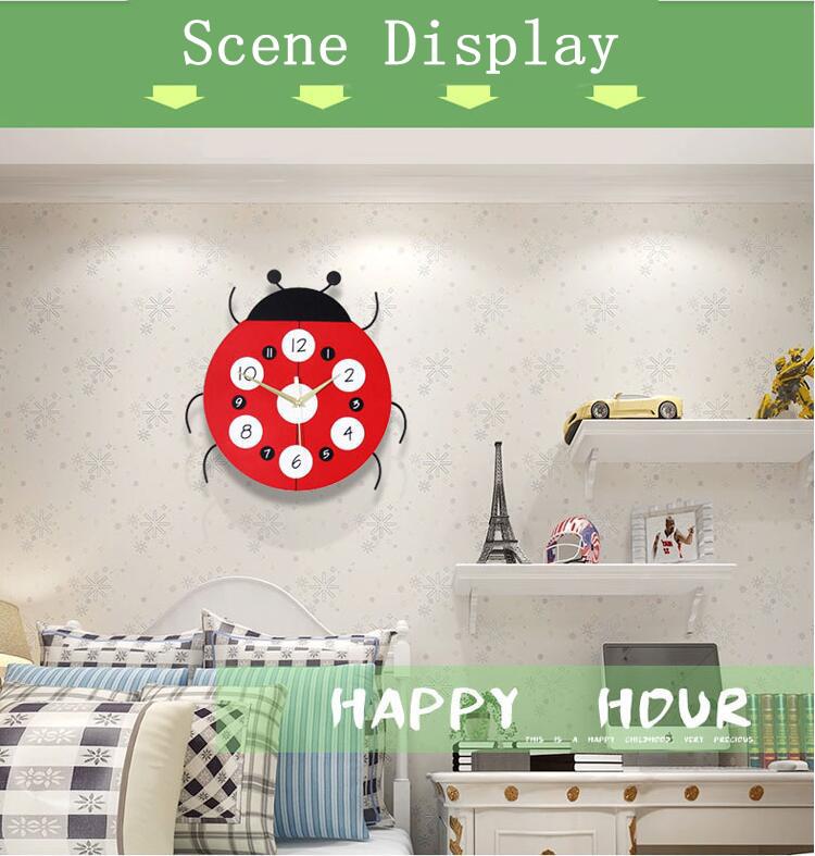 Großhandel Geekcook Kreative Cartoon Wanduhr Mode Moderne Wohnzimmer